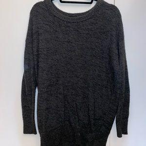 Abercrombie Long Grey Sweater